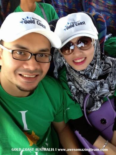 Dr Hasbi and Adibah selfie