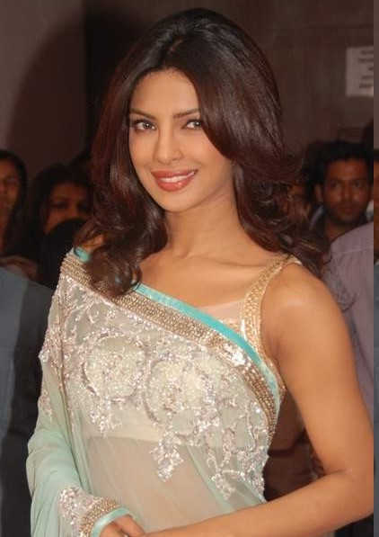 Priyanka Chopra in Hot Saree