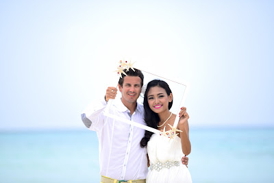Dimitry & Ayu Wedding at Maafushi