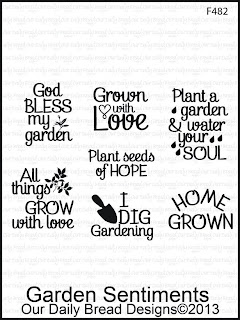 Our Daily Bread Designs, Garden Sentiments