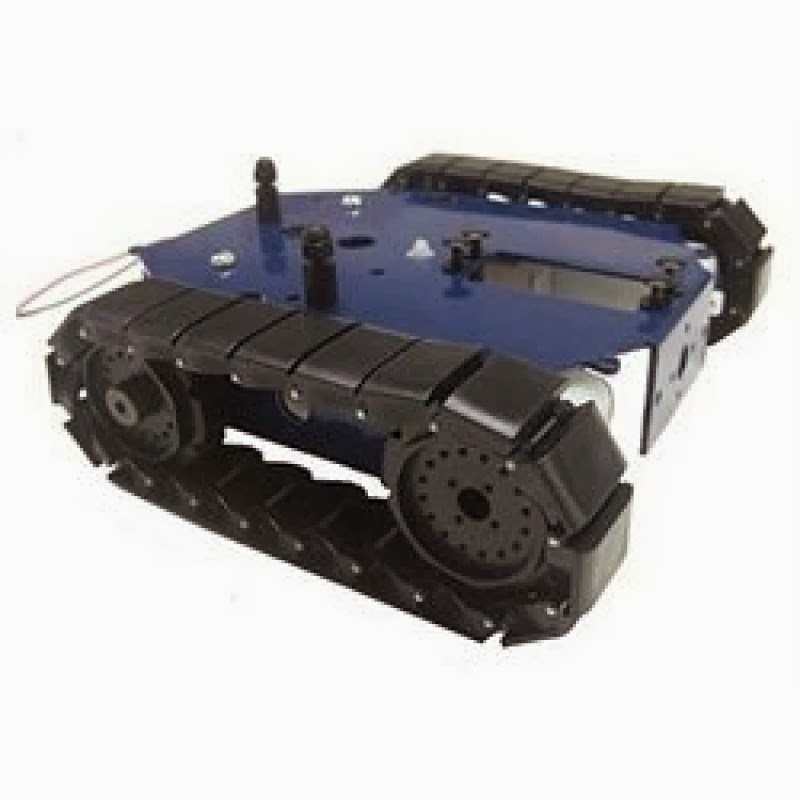 Choosing a tracked robot chassis part others my
