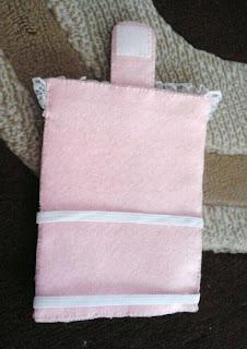 cara membuat kondom tempat hp dari kain flanel kerajinan tangan
