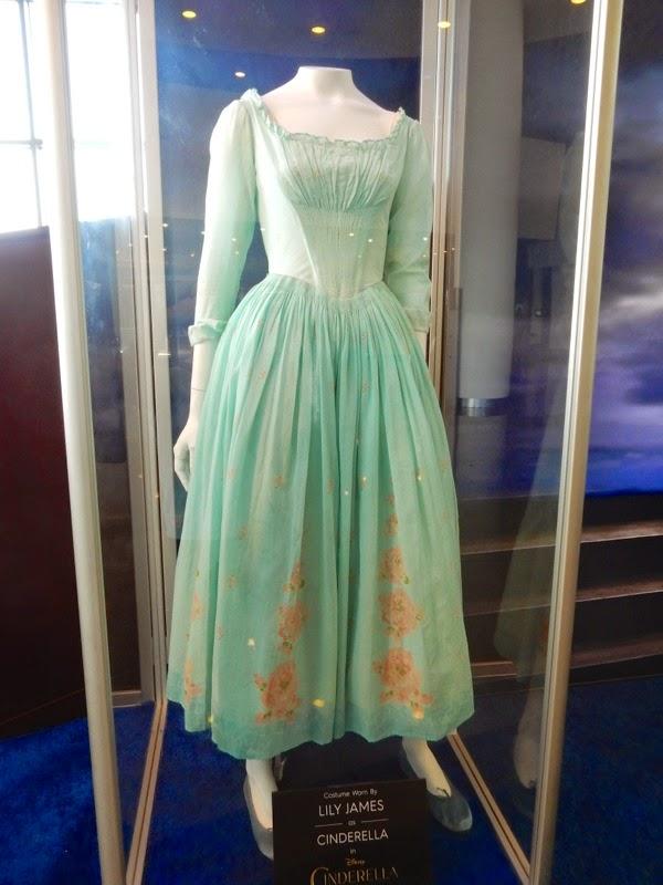 Lily James Cinderella movie costume