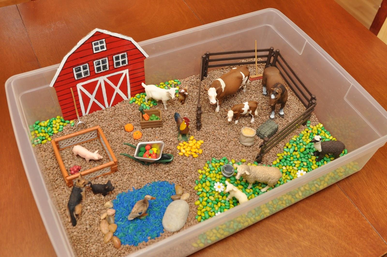 Как сделать ферму из коробки своими руками