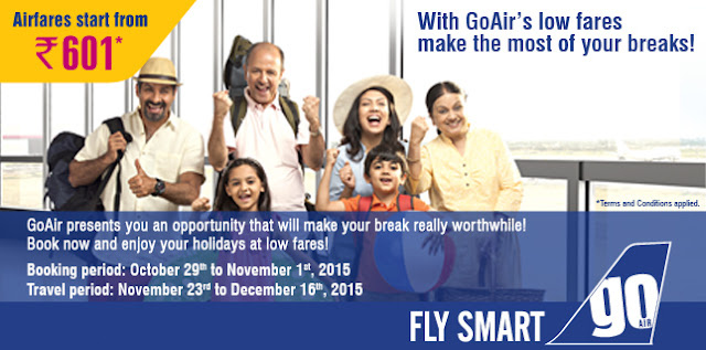 GoAir Airfare Sale...
