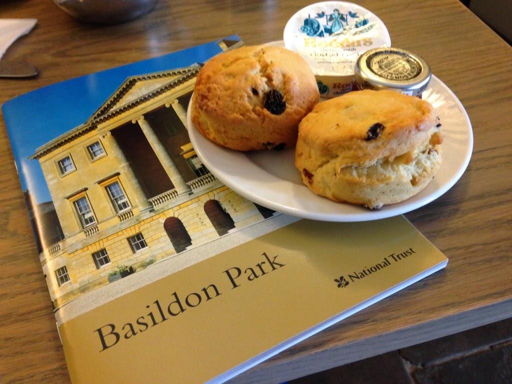 Basildon Park scones