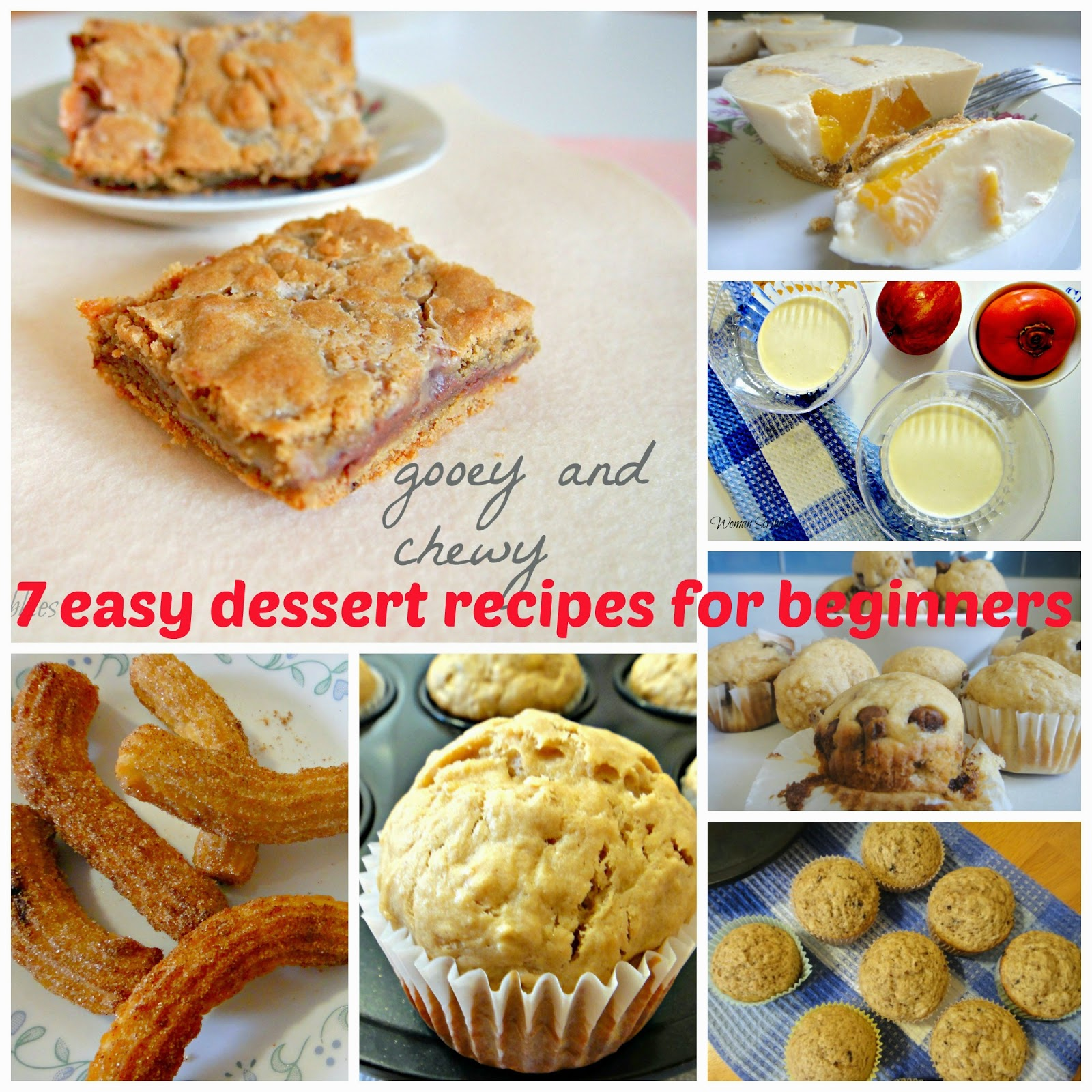 scribbles 7 easy dessert recipes for beginners