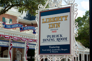 The Liberty Inn is a quick-service restaurant in the American Adventure, Epcot