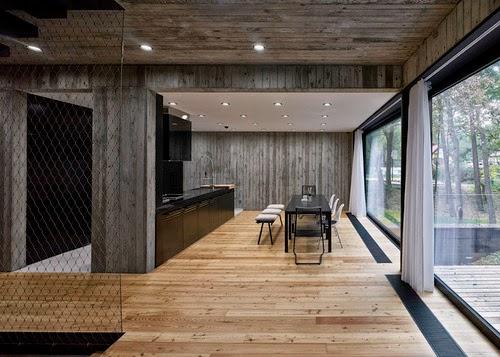 Casas minimalistas y modernas casa minimalista en for Casa moderna hormigon