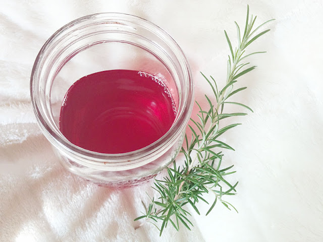 rosemary hair rinse diy