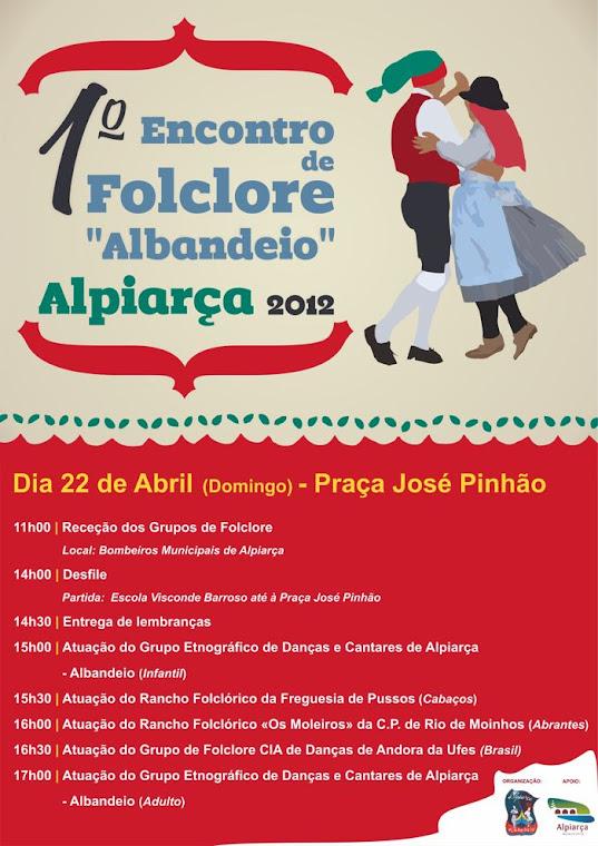 Festival de Folclore de Alpiarça , 22 de Abril de 2012