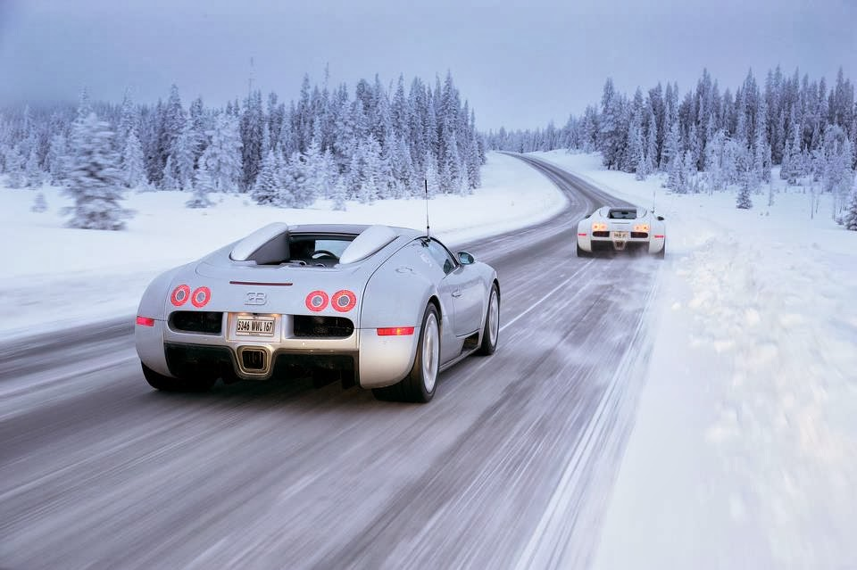 can the bugatti veyron drive in snow watch luxury ideas. Black Bedroom Furniture Sets. Home Design Ideas