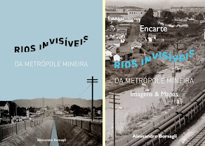 Livro Rios Invisíveis da Metrópole Mineira a venda