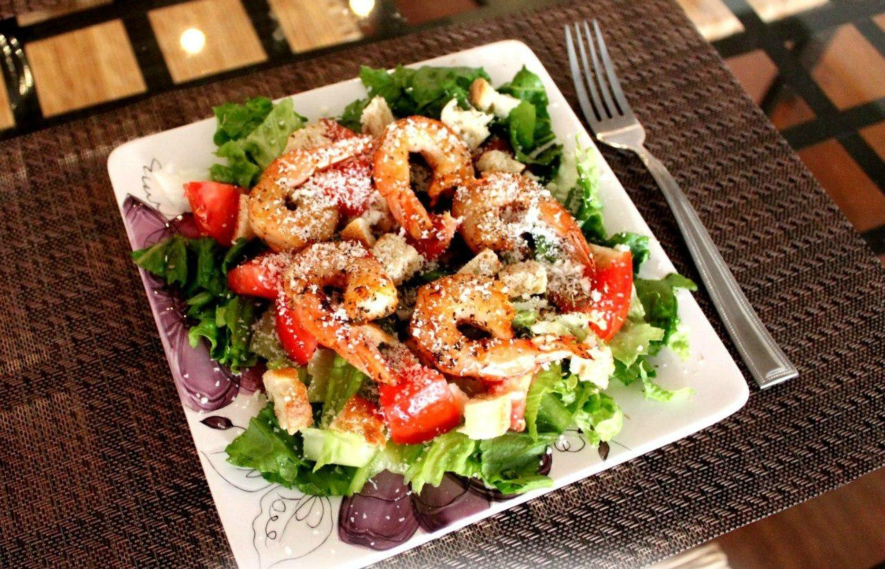 Салат с креветками рецепт пошагово в домашних условиях