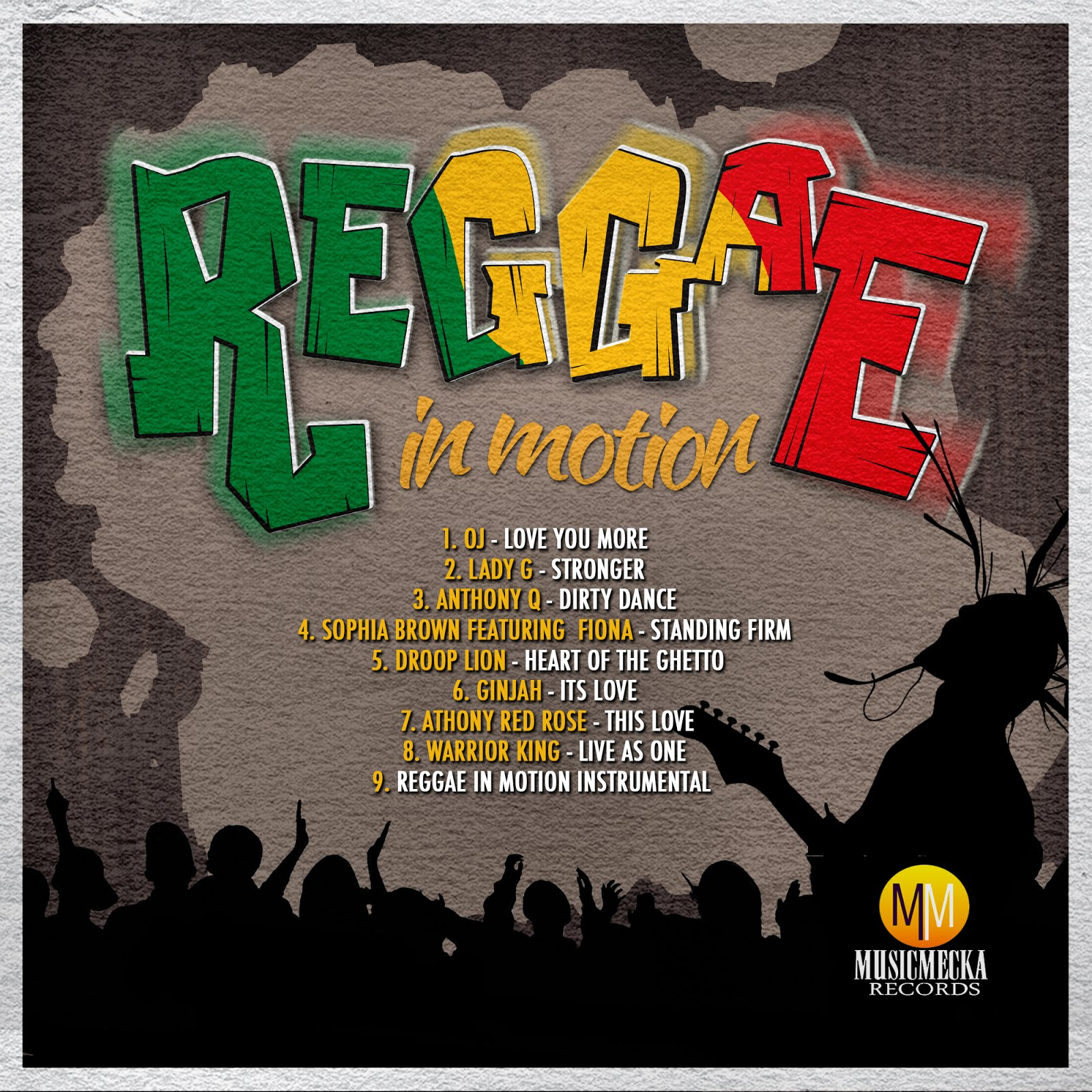 Reggae in motion riddim music mecka records - Welcome to the ghetto instrumental ...