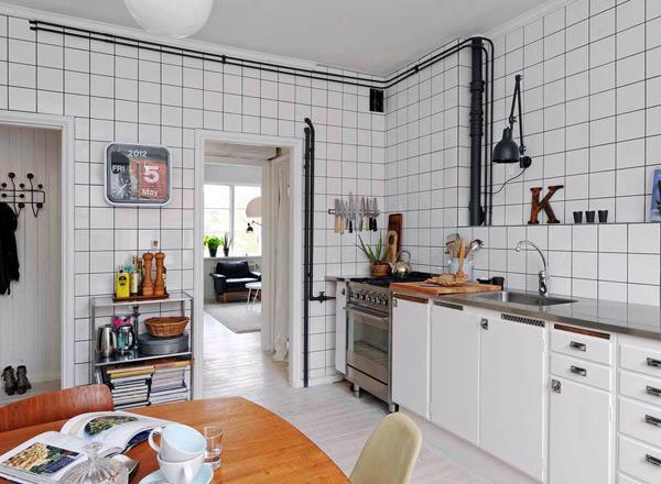 Desain Dinding Aksen Untuk Ruang Makan