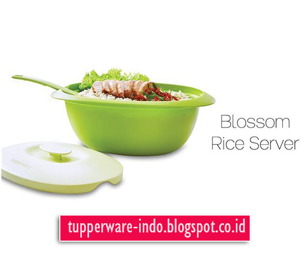 Tupperware Blossom Rice Server