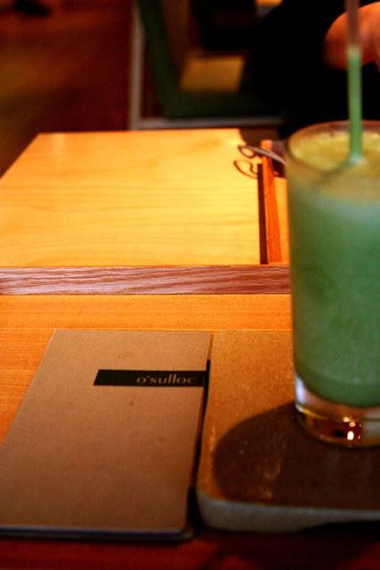 O'sulloc Matcha Latte Seoul