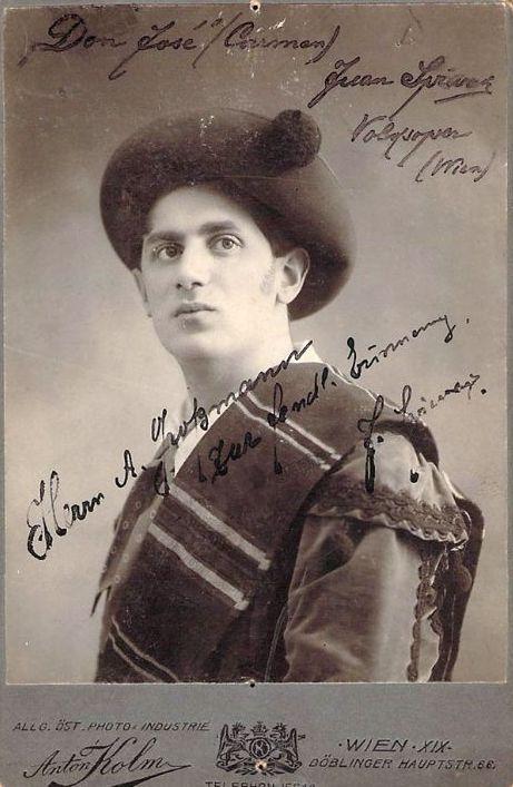 SLOVENIAN TENOR JUAN SPIWAK (1883 – 1946) CD