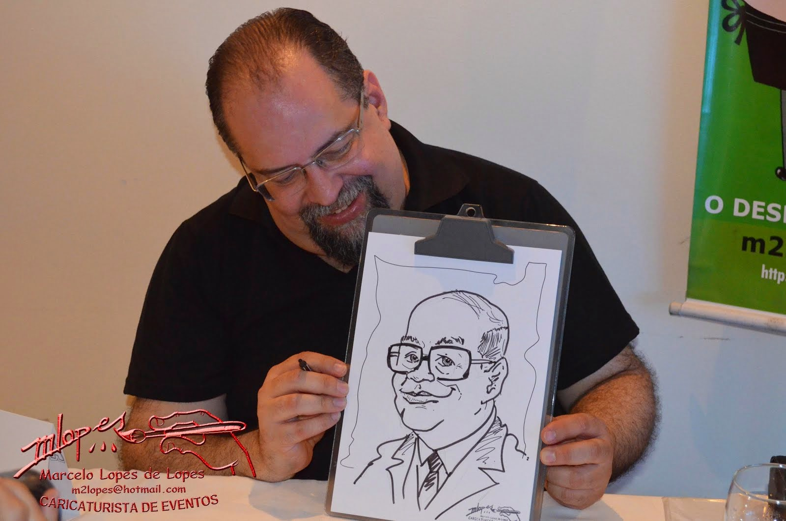 CARICATURAS DE EVENTOS M2LOPES