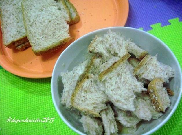 Puding Roti Tawar Kukus Catatan Dapur Dua Istri