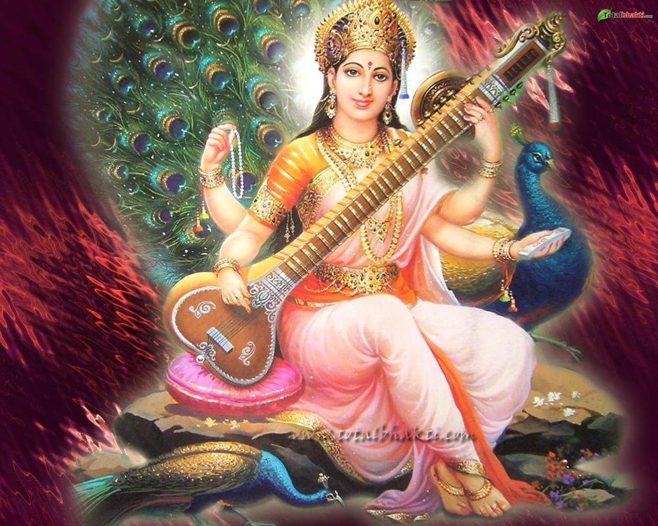 goddess saraswathi 108 names