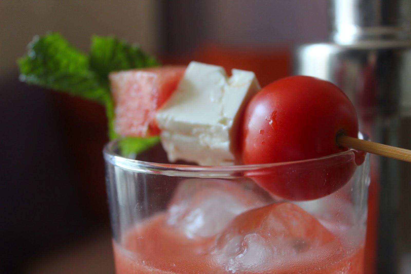 Tomato-Watermelon Vodka Fresca // Runaway Apricot