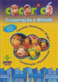 Filme Poster Cocoricó - Cooperação e Atitude DVDRip  XviD & RMVB Nacional