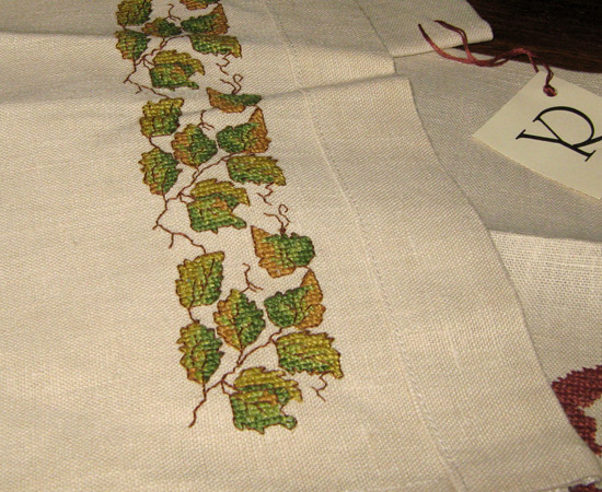embroidery, вышивка