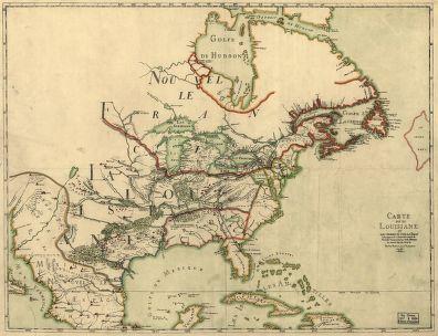 Map Of The Week Franquelins Map Of Louisiana - Louisiana lakes map