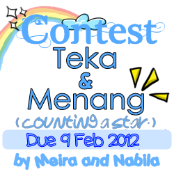 Contest Teka & Menang by Meira and Nabila