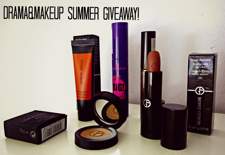 DRAMA&MAKEUP SUMMER GIVEAWAY! 1st DramaTag Anniversary, +1000 GFC Subscribers, +1500 FB Likes, +800000 Views. THANK YOU!