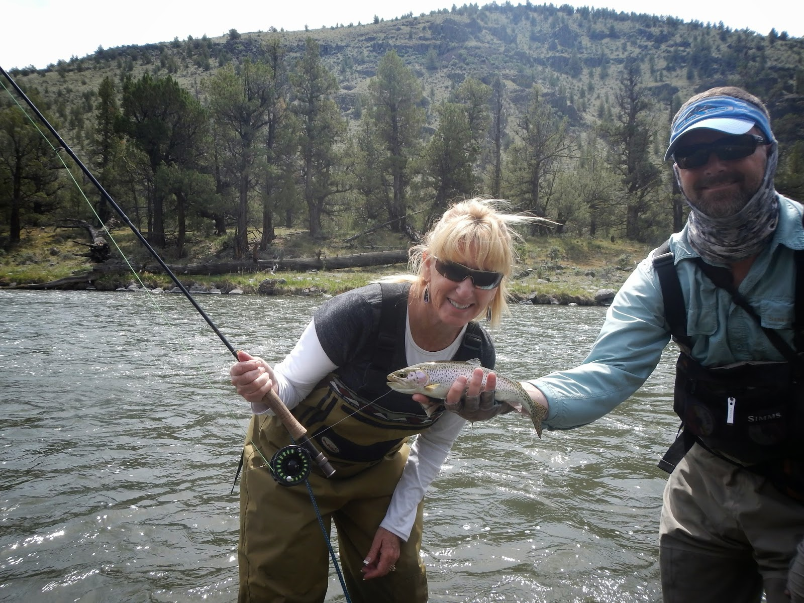 River borne outfitters blog fishing reports crooked for Fishing report oregon