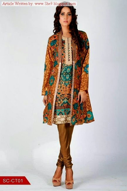 Shamaeel Winter Dress Collection 2014-2015