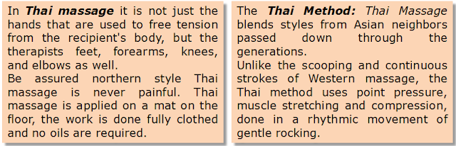 what it´s thai massage