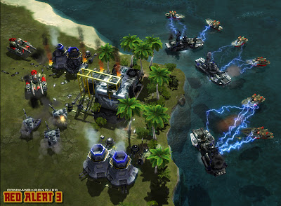 Command And Conquer: Red Alert 3 Screenshot