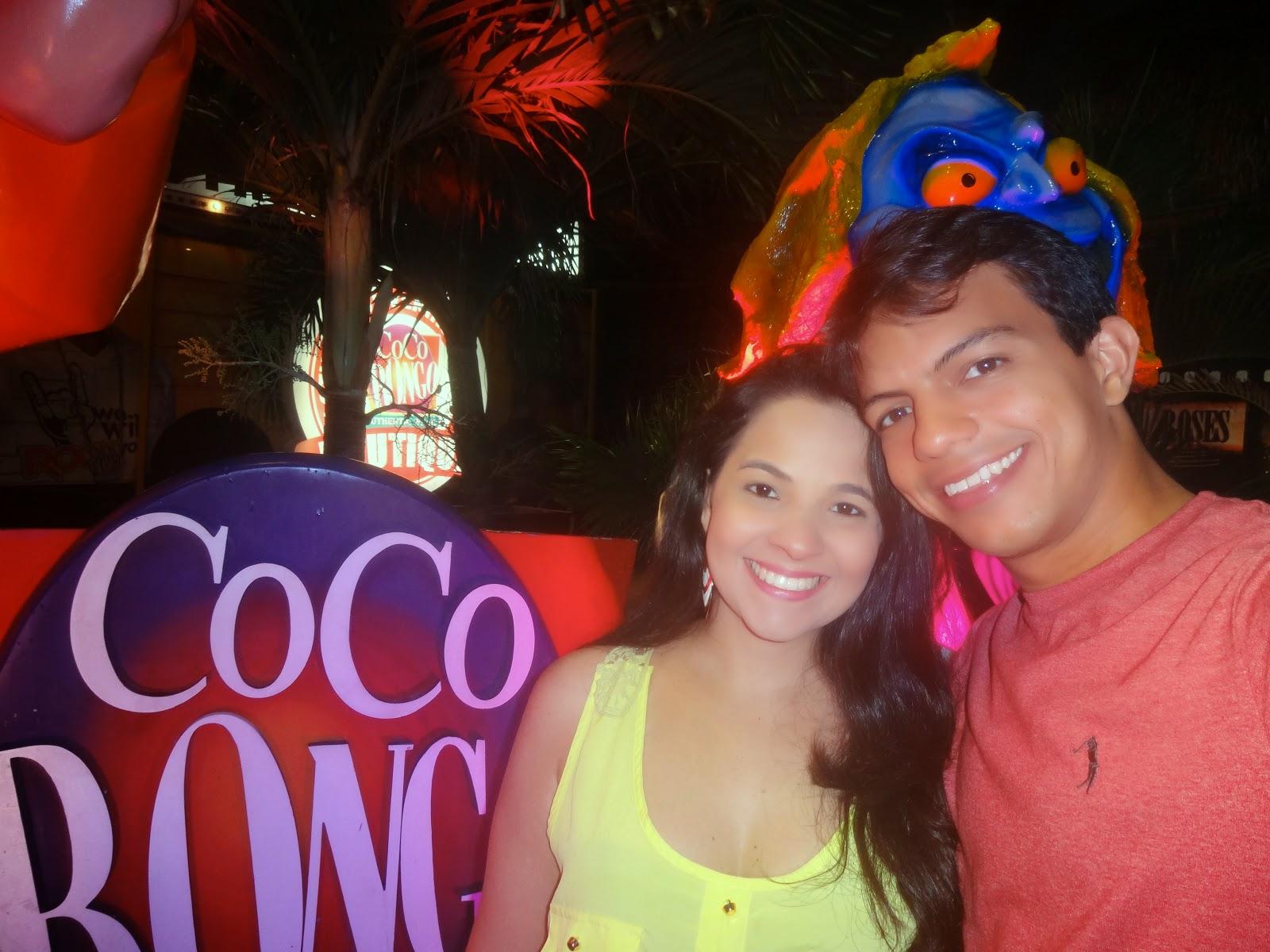 entrada da boate CocoBongo - Cancún