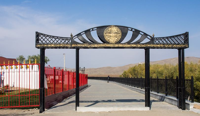 Kyzyl, the geographical center of Asia