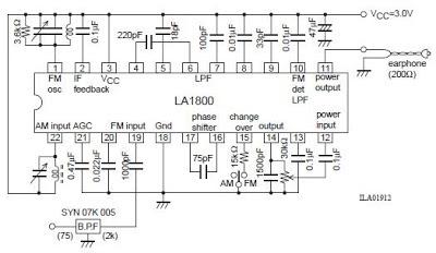 use la1800 portable am and fm radio diagrams circuit rh vencircuit blogspot com