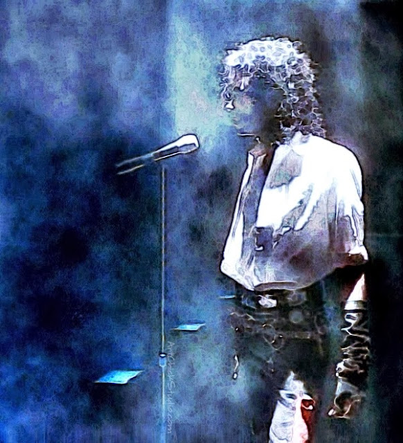 Dirty Diana Spotlight Michael Jackson Art