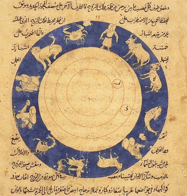 Manuscrito árabe del zodíaco -  Anónimo