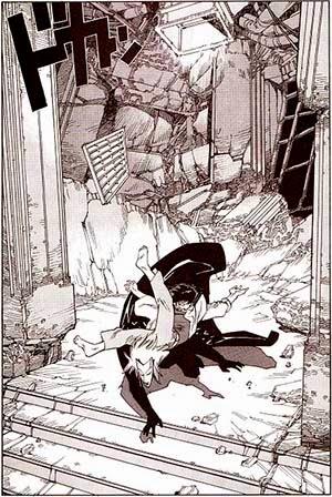 """Páginas de """"Opus Vol. 1"""", de Satoshi Kon"""