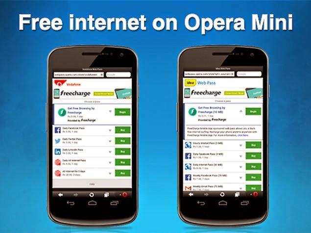 freecharge opera