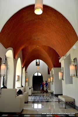 Brick-dome ceiling at The Cove Rotana