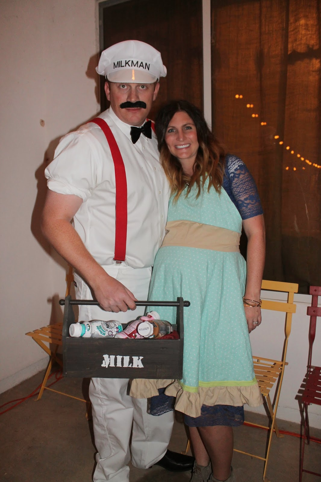 milkman and a housewife