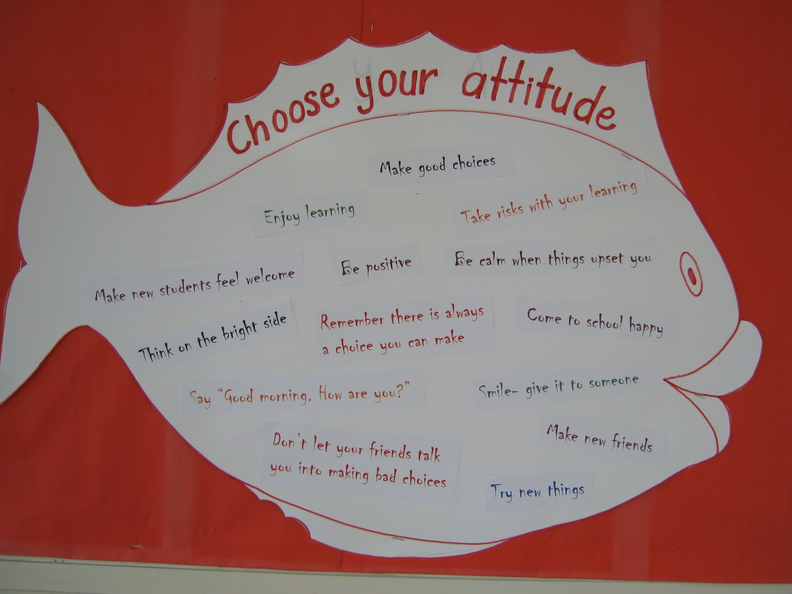 Fish philosophy choose your attitude for Fish philosophy video