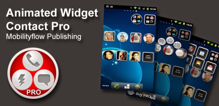 Animated Widget Contact Pro 2.0.0