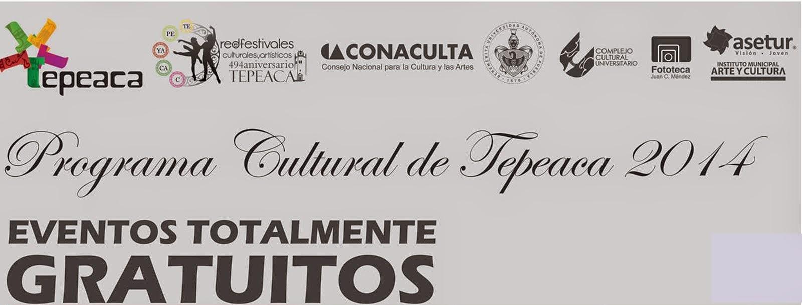 EVENTOS CULTURALES TEPEACA 2014