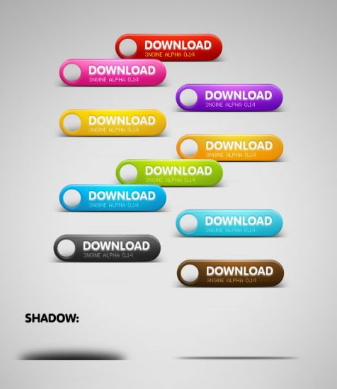 Free Download and Buy Now Photoshop Buttons