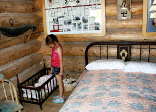We ended up staying in Bluff, Utah only because there are an extreme shortage of hotels around Monument Valley Navajo Tribal Park and the Navajo Nation, in general. We stumbled across Bluff Fort Historic Site while on the road to our hotel. It is brand new and well done. Tessa enjoyed perusing the many furnished log cabin replicas and covered wagons. The large gift shop offered some of the best prices around. Bluff, Utah was settled by the Church of Jesus Christ and Latter Day Saints during the late 1800s, so this was quite a unique stop for us, given the nature of the rest of our trip.